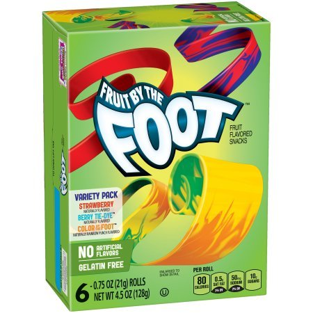 Betty Crocker Fruit By The Foot Variety Pack (6 ? 0.75 oz Rolls)