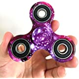 D-JOY Tri-Spinner Fidget Toy Hand Spinner Camouflage, Stress Reducer Relieve Anxiety and Boredom Camo (Starry...