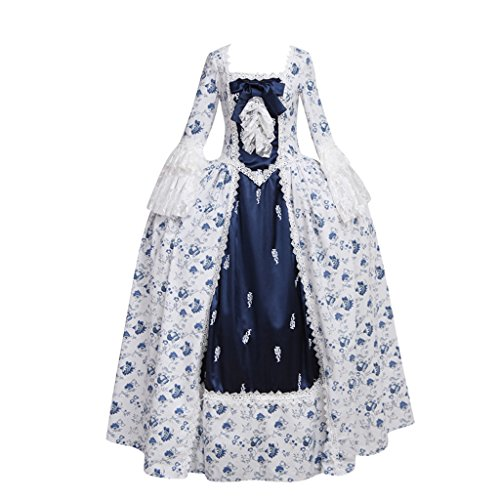 CosplayDiy Women's Rococo Ball Gown Gothic Victorian Dress Costume XXL - Victorian Gown Costumes
