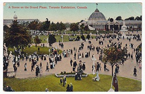 Grand Plaza, CNE, Toronto, Canada Vintage Original Postcard #1095 - Early - Grand Stores Plaza
