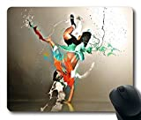 Other Hip Hop Dance Pictures Tumbrl Non-Slip Rubber Gaming Mouse Pad Size 9 Inch(220mm) X 7 Inch(180mm) X 1/8(3mm)