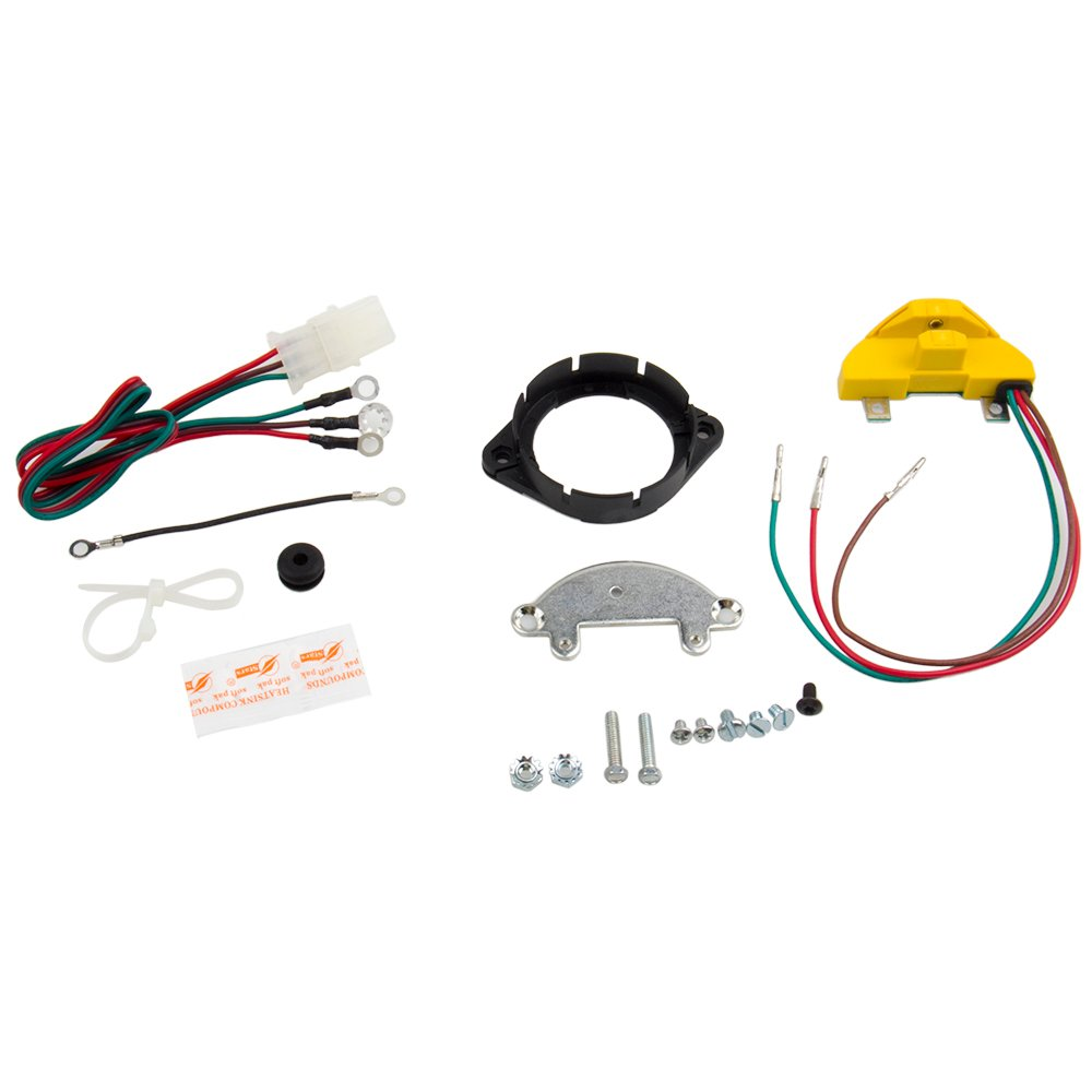 BIG AUTOPARTS Igniter Kit 1957-74 GM V8 Engines with AC/Delco Single and Dual Point Distributors Eliminator Kit