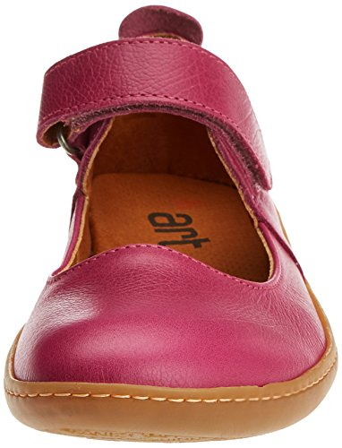 Toe Art Pink Women's Closed Memphis 1293 Ballet Magenta Kio Flats qPFrPXw