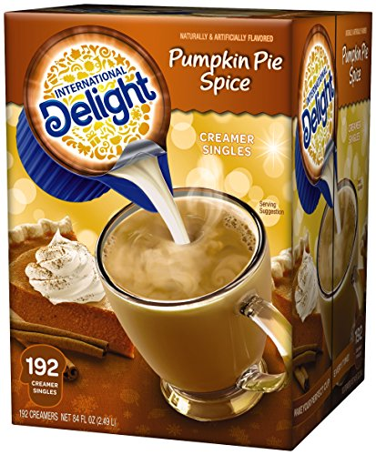 International Delight Pumpkin Pie Spice Coffee Creamer Pa...