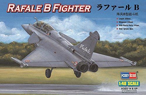 Hobby Boss Rafale B Jet Fighter Airplane Model Building Kit
