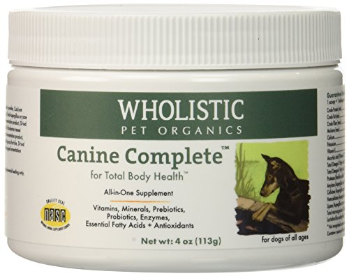 Wholistic Pet Organics Canine Complete Multivitamins, 4 oz
