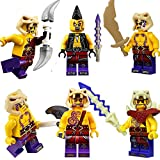 Best Ninjago Sets - LEGO® Ninjago™: Set of 6 Anacondrai Warriors Review