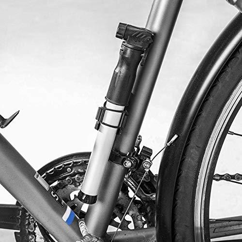 SaveStore 90-100psi Mini Portable Bicycle Pump MTB Road Bike Tire Ball Hand Air Pump High Pressure Inflator Cycling Accessories by SaveStore (Image #2)