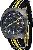 seiko yellow dial - SEIKO 5 Sports Automatic Men's Watch SSA289J1 Black / Yellow