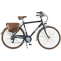 Via Veneto by Canellini Bicicleta Bici Citybike CTB Hombre Vintage Retro Dolce Vita Aluminio Black Matt Negro