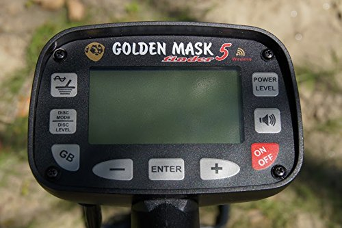 Amazon.com : Golden Mask 5WD-Dual Processor Technology with WS 105 : Hobbyist Metal Detectors : Garden & Outdoor