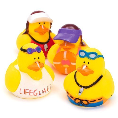 Lifeguard Rubber Ducks by