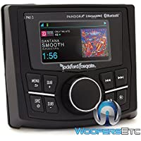 Rockford PMX-3 Punch Marine/Motorsport Compact Digital Media Receiver w/ 2.7 Display