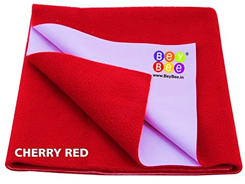 Bey Bee – Quick Dry Baby Bed Protector Waterproof Sheet (Red)