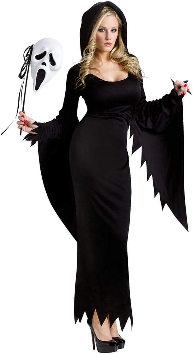 Mujer Disfraz Scream Long, M/L 38-40: Amazon.es: Juguetes y juegos