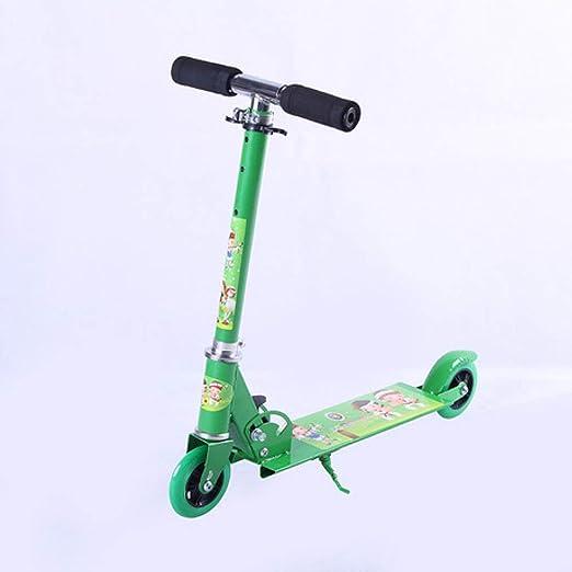WY-Tong Monopatin niños Patinete para niños Sencilla Bicicleta de ...