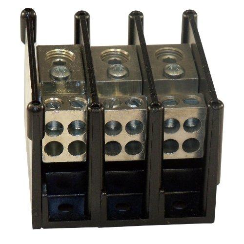 Mersen MPDB63133  Alum Pwr-Dist Block - Pole Alum