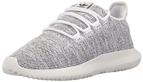 67bf8c4a adidas Originals Men's Tubular Shadow Running Shoe, White/White/Black, 11 M
