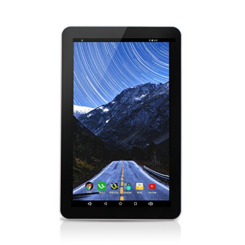 iRULU - Tablet PC Android 5.1, Pantalla 10.1'', Quad Core, 16GB Flash