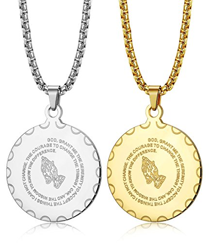 Great Medal Pendant Necklace - 7