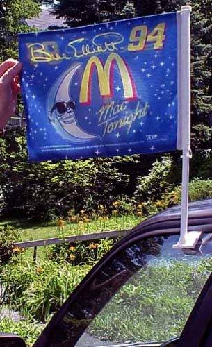 Bill Flags Elliott (Bill Elliott #94 Mac Tonight McDonalds NASCAR Auto Flag)