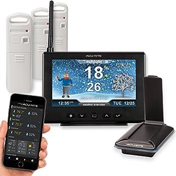 Amazon Com Acurite 01039m Hd Multi Display Amp 3 Sensor