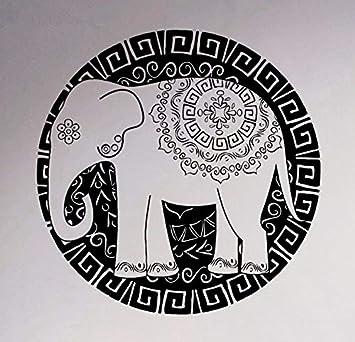 Estilo de arte mandala grande vinilo tatuajes de pared etiqueta de ...