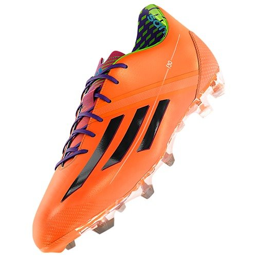 adidas New Men's F30 TRX FG Soccer Cleats Zest/Black/Purple - F30 Fg Trx