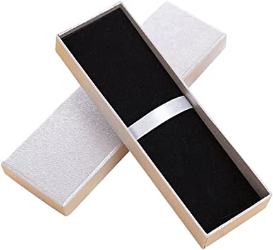 color dorado Zhi Jin 5pcs exquisito joyas caja de regalo de bol/ígrafo con coj/ín l/ápiz cajas vac/ías funda Bulk Collection Set para aniversario Business
