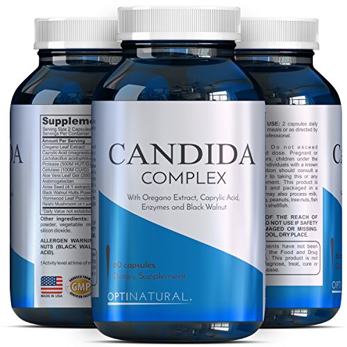 Candida Cleanse Detox Supplements Women
