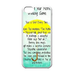 Custom Colorful Case for Iphone 5C, How I Met Your Mother Cover Case - HL-2007873