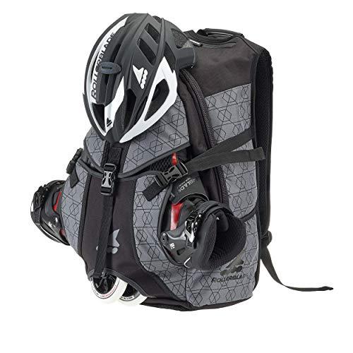 Rollerblade Backpack Pro LT 30, Inline Skate, Multi Sport, Grey