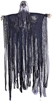 CLOTH Halloween Costume Decoration Gauze Large Black//White House Prop New CH