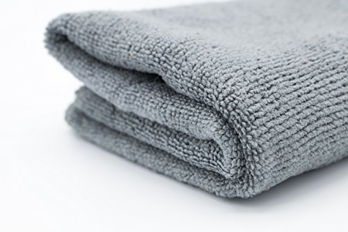 Salon Quality Microfiber Towel - Grey 16''X29'' (20-Pack)-Name brand quality at whole sale price!! (Grey) by Private Label (Image #2)