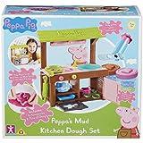 Peppa Pig 7038 PEPPA'S MUD Kitchen Dough Set, Multi-Colour