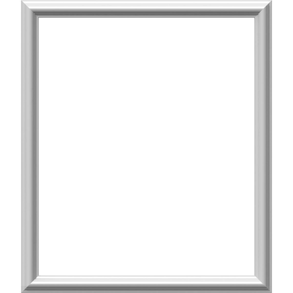 Ekena Millwork PNL24X28AS-01 24''W x 28''H x 1/2''P Ashford Molded Classic Wainscot Wall Panel