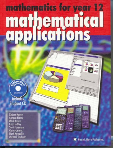Download Mathematics for Year 12: Mathematical Applications pdf epub