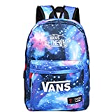 DEES Fashion Canvas Galaxy Rucksack Backpack School Bag Travel bag