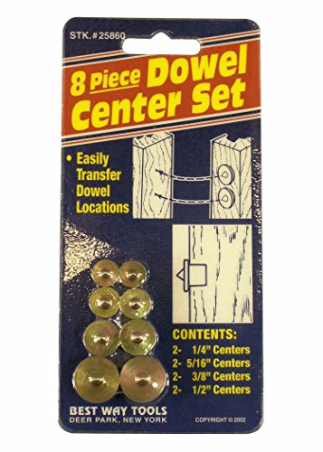 Best Way Tools 25860 Dowel Center Set (Dowel Center)