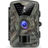 "Victure Trail Game Camera 1080P 12MP Wildlife Camera Motion Activated Night Vision 20m with 2.4"" LCD Display IP66 Waterproof Design for Wildlife Hunting and Home Security"