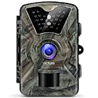 【Upgraded】Victure Trail Camera 1080P 12MP Wildlife Camera Motion Activated Night Vision 20m