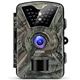 #8: Victure Trail Camera 1080P 12MP Wildlife Camera Motion Activated Night Vision 20m with 2.4