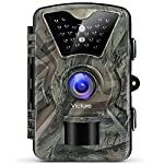Victure Trail Game Camera 1080P 12MP Wildlife Camera Motion Activated Night Vision 20m with 2.4″ LCD Display IP66 Waterproof Design for Wildlife Hunting and Home Security