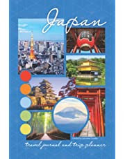 Japan travel journal and trip planner: 6x9, 150-page paperback Japan travel-themed journal, trip planner, diary, sketchbook, and notebook all in one. Perfect personal keepsake, bon voyage gift, retirement gift, or graduation gift for any traveler.