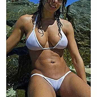 d5759f1b13 ... SHERRYLO Semi-Transparent Mesh Bikini Set Maillot De Bain Femme Swimwear  ...
