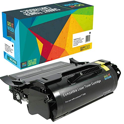 Do it Wiser Remanufactured T650H11A High Yield Toner for
