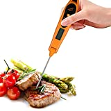 Long Probe Thermometer,Alexsix Digital Instant Read Meat Thermometer Kitchen Cooking BBQ Food Thermometer (y-139989)