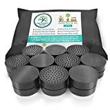 The Garden Gecko Invisible Pot feet for outdoor plant pots and flowers solid rubber pot risers with enhanced non-slip surface grip | 20 PACK.