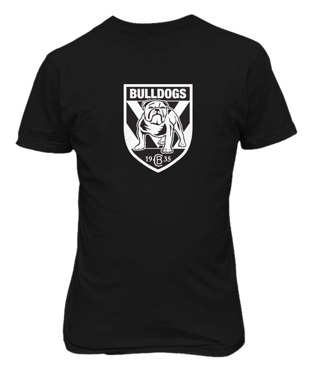 Tjsports Canterbury Bankstown Bulldogs Rugby Australia T Shirt Black