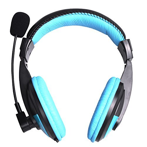 Stereo Gaming Headphone Headset with Microphone